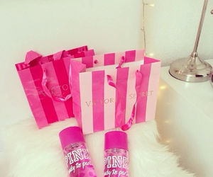 Victoria's Secret, pink, and love pink image