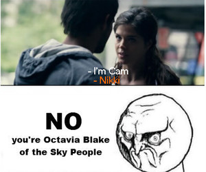 tracers, the 100, and octavia blake image