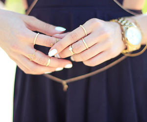 fashion, outfit, and watch image
