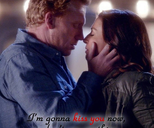 in love, kiss, and owen hunt image
