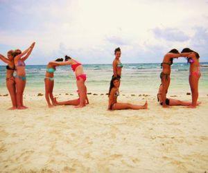 yolo, beach, and summer image