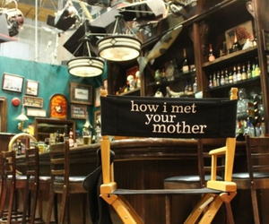 how i met your mother, himym, and chair image