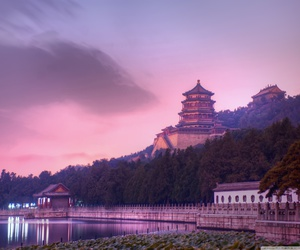 beautiful, landscape, and beijing image