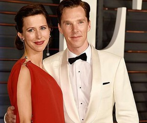 oscars, benedict cumberbatch, and sophie hunter image