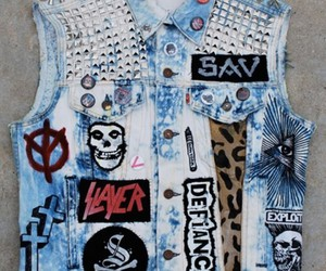 jeans, punk, and jacket image