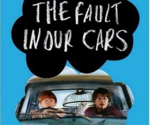 harry potter, the fault in our stars, and funny image