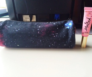 galaxy, melted, and too faced image