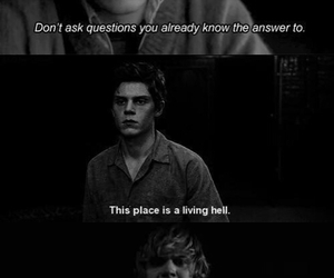 evan, ahs, and quotes image