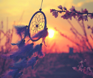 beautiful and dreamcatcher image