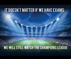 school, champions league, and football image