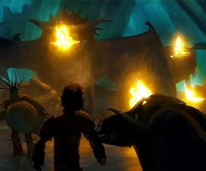 hiccup, how to train your dragon, and toothles image