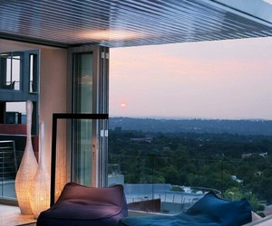 balcony, home, and romantic image