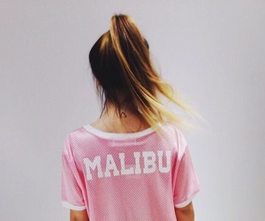 malibu, girl, and pink image