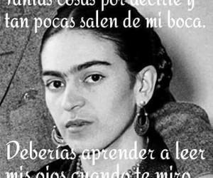 frase, frida kahlo, and kahloicas image