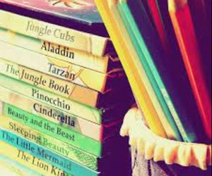 book, disney, and pencil image