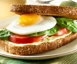 healthy and sandwich image