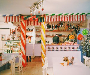 cafe, candy, and sweet image