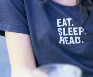 sleep, eat, and read image