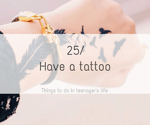 tattoo and life image
