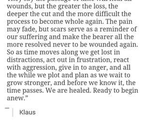quote, The Originals, and klaus image