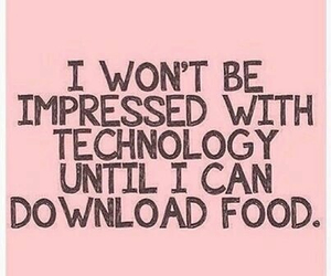 food, technology, and funny image