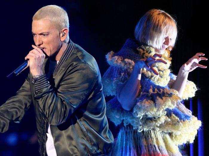 sia and eminem in live on We Heart It
