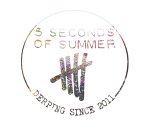 band logo, 5 seconds of summer, and 5sos image