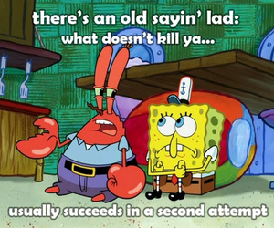 funny, quote, and spongebob image