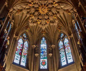 cathedral, ceiling, and edinburgh image