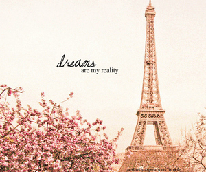 dreams, paris, and eiffel tower image