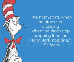 cat, quotes, and dr seuss image