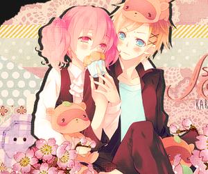 karuta, watanuki, and roromiya image