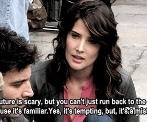 quotes, how i met your mother, and himym image