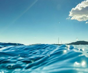 blue, water, and sea image