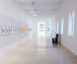 gallery, minimalistic, and room image