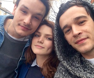 matty healy, george daniel, and the 1975 image