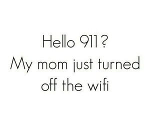 wifi, funny, and 911 image