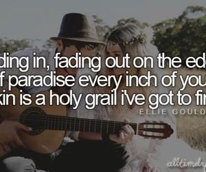Ellie Goulding, Lyrics, and love me like you do image