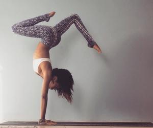 dance, girl, and yoga image