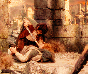 frodo, gif, and lord of the rings image