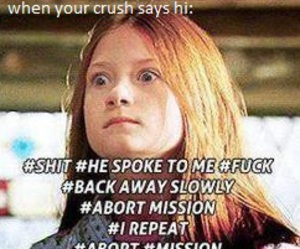 harry potter, lol, and ginny weasley image