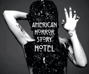 hotel, Lady gaga, and ahs image