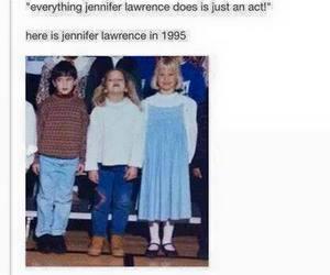 funny and Jennifer Lawrence image