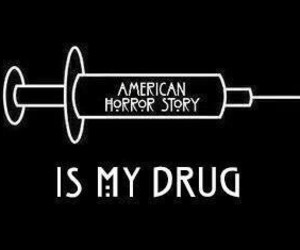 ahs, drug, and evan peters image