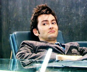 david tennant, doctor who, and tenth doctor image