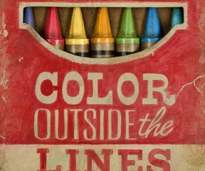 color, crayon, and colors image