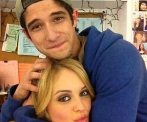 teen wolf, tyler posey, and gage golightly image