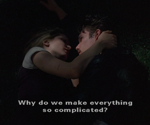 complicated and love image