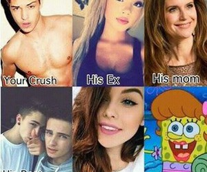 crush, funny, and me image
