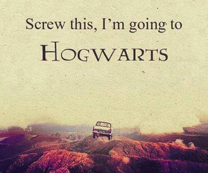 hogwarts, harry potter, and car image